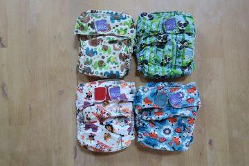 新生児から使いやすい布おむつ