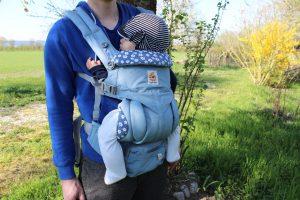 エルゴベビーオムニ360 10ヶ月の赤ちゃん