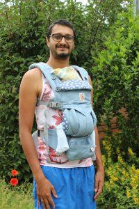 エルゴベビーオムニ360 2ヶ月の赤ちゃん